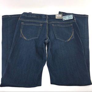 NWT Converse One Star Dark Wash Boot Cut Jeans 6